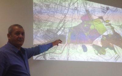 Présentation du projet du village d'intégration Shibolet (Photo: page Facebook d'Ofir Schick)