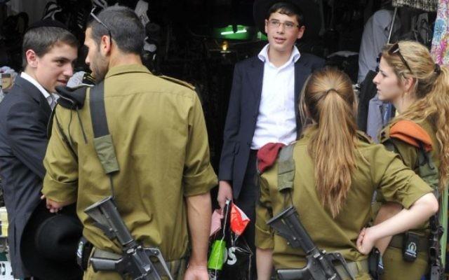 Soldats de l'armée israélienne. Illustration. (Crédit : Serge Attal/Flash90)