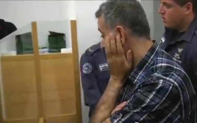 Le Suédo-libanais Hassan Khalil Hizran est inculpé en Israël pour espionnage au profit du Hezbollah (Capture d'écran : Walla)