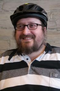 Rabbi Mendy Chitrik de la communauté juive ashkénaze d'Istanbul (Crédit : Avi Lewis)