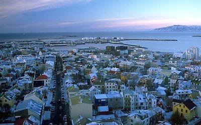 Une vue de Reykjavik (Crédit : CC BY-SA 3.0 Andreas Tille / Wikipedia)