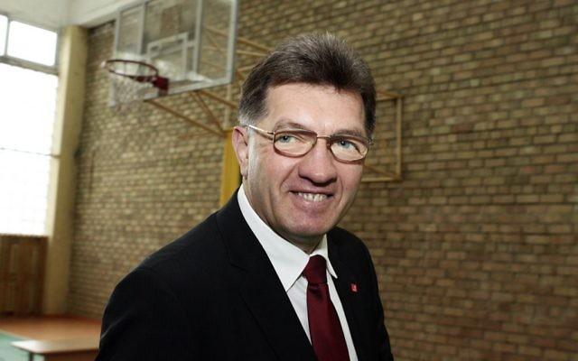 Le Premier ministre lituanien Algirdas Butkevičius (Crédit : Wikipédia : CC-BY-SA-3.0)
