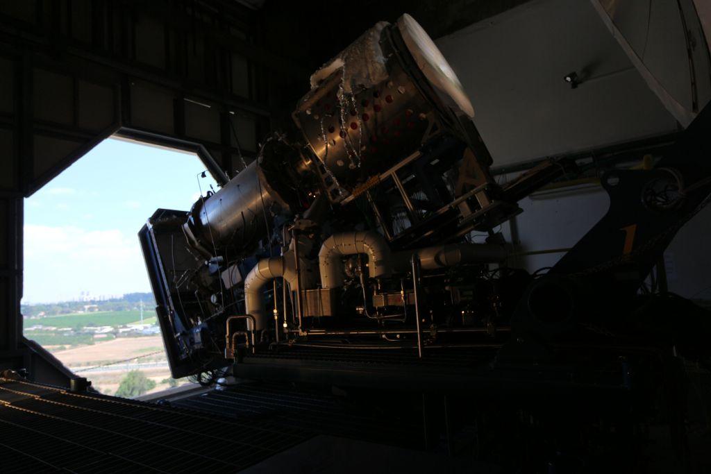 L'un des deux prototypes de la machine qui convertit le dioxyde de carbone et de la chaleur en oxygène et en combustible. (Crédit : Autorisation)