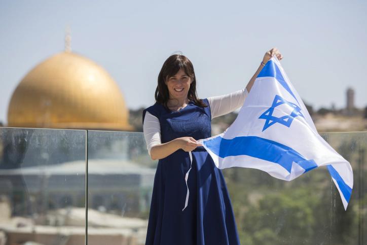 La ministre adjointe aux Affaires étrangères, Tzipi Hotovely à Jérusalem, le 1er mai 2014. (Crédit : Yonatan Sindel / Flash90)