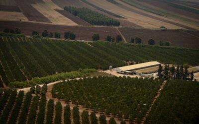 Paysage depuis le Mont de Nazareth au Nord d'Israël (Mendy Hechtman/Flash90)