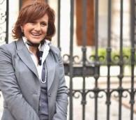 La présidente  Président de la communauté juive de Rome, Ruth Dureghello (Crédit : autorisation)