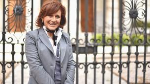 La présidente de la communauté juive de Rome, Ruth Dureghello (Crédit : autorisation)