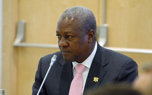 John Dramani Mahama, président de la République du Ghana (Crédit : cc-by-2.0)