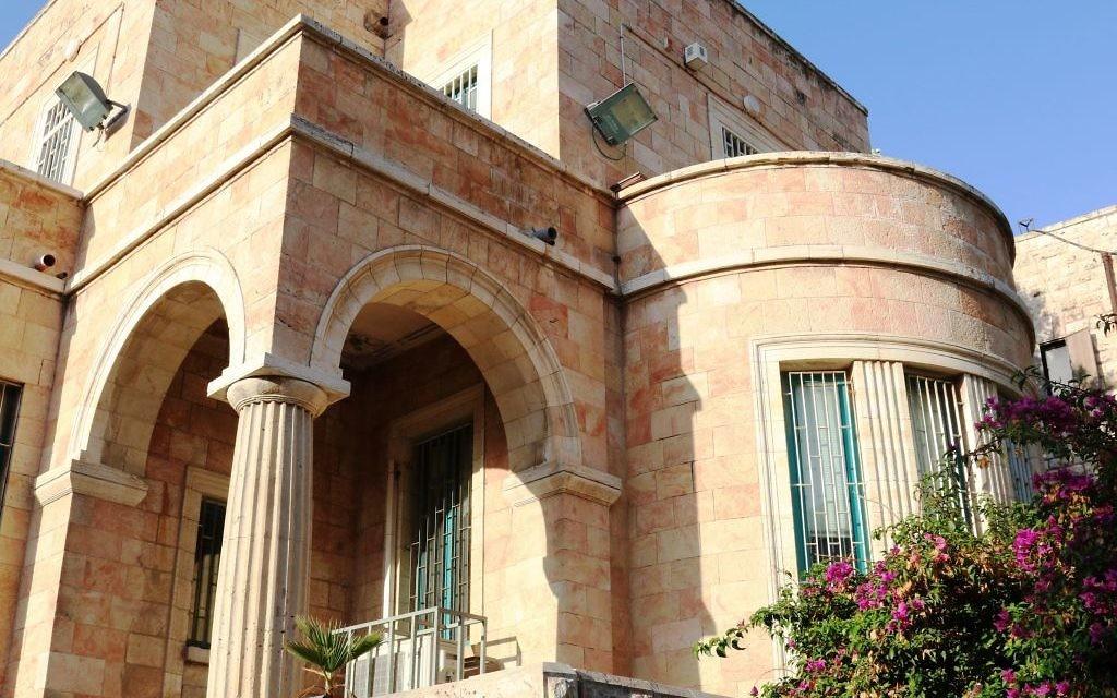 La maison Amdurski (Crédit : Shmuel Bar-Am)