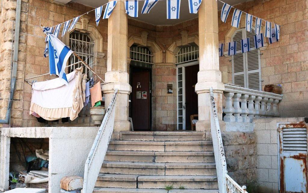 La maison Mani (Crédit : Shmuel Bar-Am)