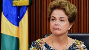 La présidente du Brésil Dilma Rousseff  (Crédit photo: EVARISTO SA / AFP)