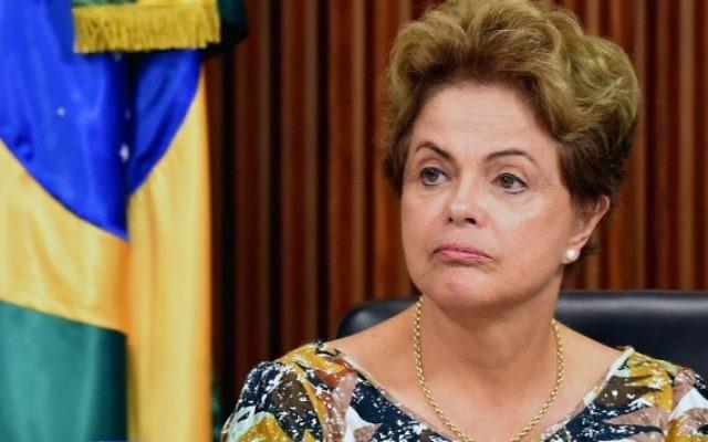 La présidente du Brésil Dilma Rousseff  (Crédit : EVARISTO SA / AFP)