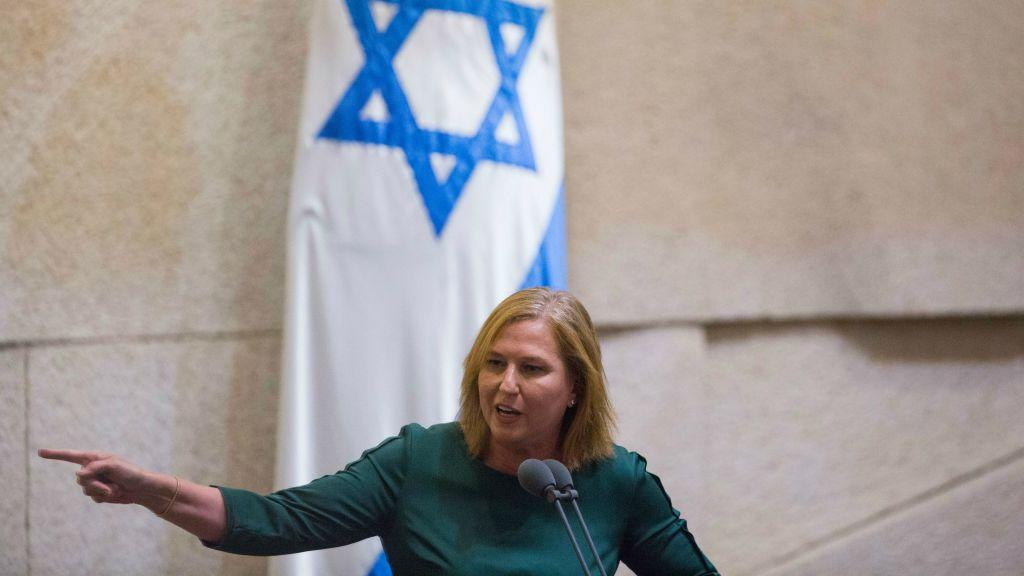 La députée Tzipi Livni  lors d'une session plénière de la Knesset le 7 septembre, 2015 (Crédit : Yonatan Sindel / Flash90)
