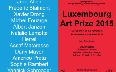 Luxembourg Art Prize Invitation