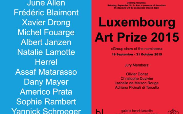 Luxembourg Art Prize Invitation