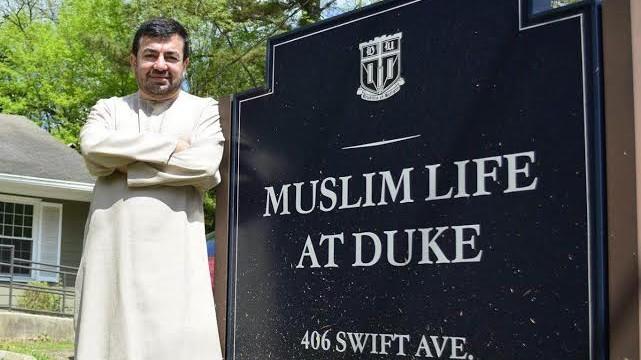 L'imam Abdullah Antepli à Duke (Courtoisie)