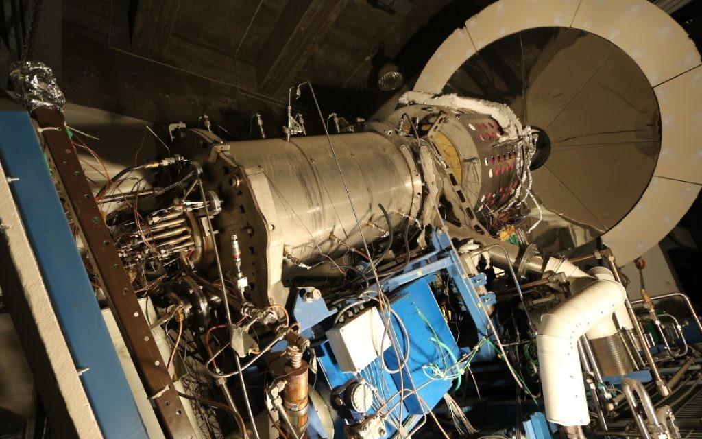 Un prototype de la machine qui renverse combustion (Crédit : Autorisation)