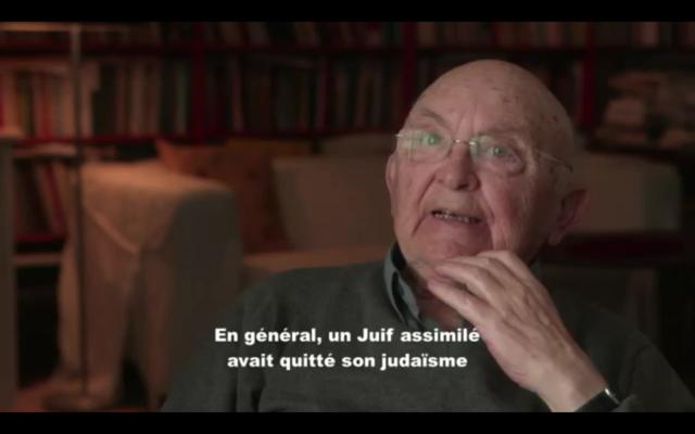 Capture d'écran YouTube Entretien avec Aharon Appelfeld, historien - Jusqu'au dernier : La destruction des Juifs d'Europe