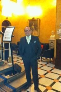 Le parrain de la communauté juive française installée au Royaume-Uni, Simon Tobelem (Autorisation)