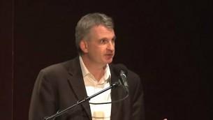Timothy Snyder, professeur d'histoire à Yale  (Capture d'écran YouTube)