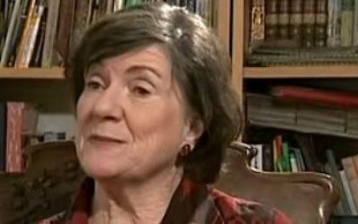 La baronne Jenny Tonge (Crédit : capture d'écran YouTube)