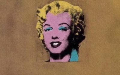 Un portrait de Marilyn Monroe par Andy Warhol (Capture d'écran YouTube )