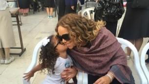 Mariah Carey au Kotel en juin 2015. (Crédit : Maria Carey, Instagram)