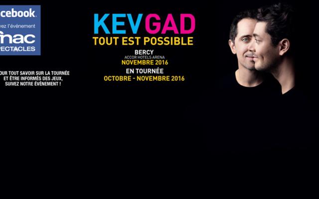 Crédit : Facebook/ Kev & Gad #ToutEstPossible en tournée et à Paris