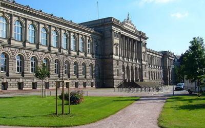 Université de Strasbourg (Crédit : Wikipédia CC BY-SA 3.0/ Le Palais Universitaire)