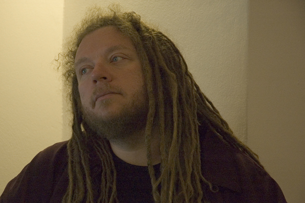 Jaron Lanier (Crédit :CC BY-SA Meet the Media Guru, Flickr)