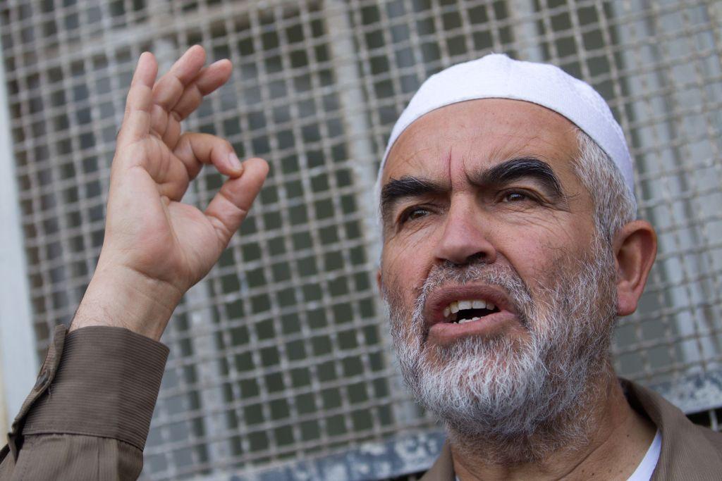 Raed Saleh, chef de la branche nord du Mouvement islamique en Israël. (Crédit : Miriam Alster / Flash90)