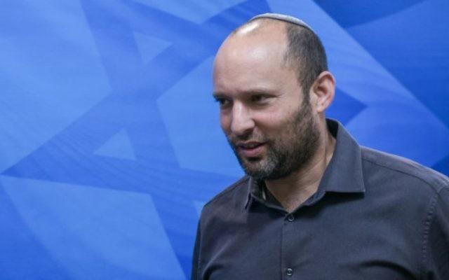Naftali Bennett à Jérusalem le 20 septembre 2015. (Crédit : Ohad Zwigenberg/POOL)