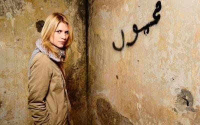 Claire Danes dans « Homeland » (Crédit : Autorisation Showtime)