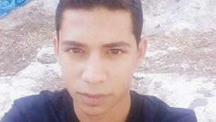 Muhanad Shafeq Halabi, 19 ans, a été identifié comme le terroriste qui a tué deux hommes israéliens , le 3 octobre, 2015 dans une attaque au poignard dans la Vieille Ville de Jérusalem. (Crédit : Police israélienne)