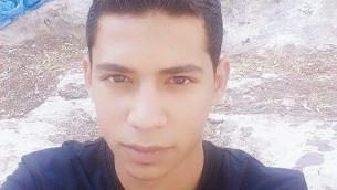 Muhannad Halabi, 19 ans, le terroriste qui a tué deux Israéliens le 3 octobre 2015 pendant une attaque au couteau dans la Vieille Ville de Jérusalem (Crédit : Police israélienne)