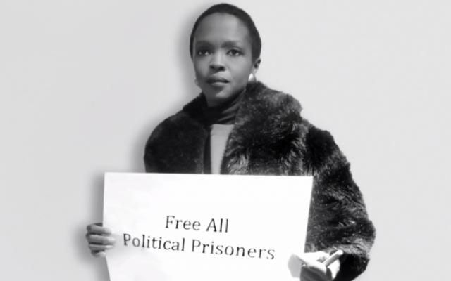 """Lauryn Hill dans une vidéo intitulée """"Quand je les vois, je nous vois"""" (Crédit : capture d'écran: YouTube)"""