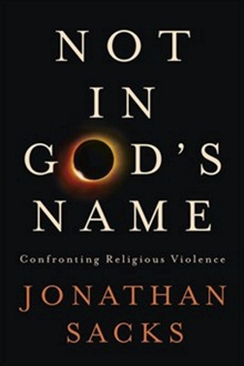 Rabbi Jonathan Sacks dit : 'Non, Pas au Nom de Dieu' a été consciemment écrit pour un public qui est essentiellement non juif (Crédit : Autorisation)