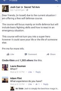 Capture d'écran Facebook (Crédit : Facebook)