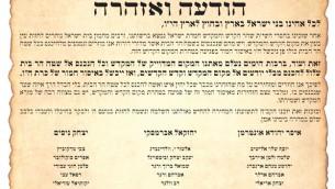 Tract interdisant auc Juifs de se rendre au mont du Temple (Capture d'écran Deuxième chaîne)