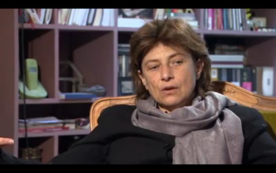 Chantal Akerman (Capture d'écran YouTube : Chantal Akerman on JEANNE DIELMAN)