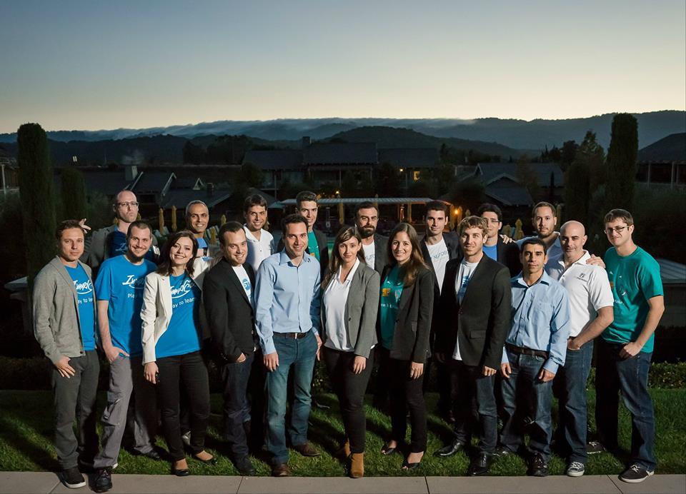 Les participants aux laboratoires d'UpWest à Palo Alto, en Californie (Crédit : Facebook)
