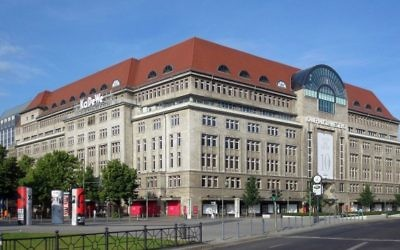 KaDeWe, le plus grand magasin d'Allemagne, à Berlin (Wikimedia Commons, CC BY-SA 3.0, Beek100)
