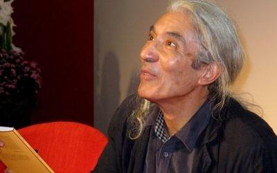 Boualem Sansal à la foire du livre de Francfort en 2011 (Crédit : domaine public)