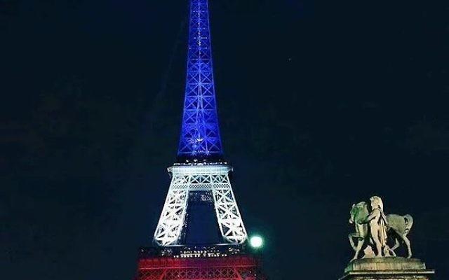 Tour Eiffel (Crédit/ Twiiter/ Parisien @Mec_De_Paname)