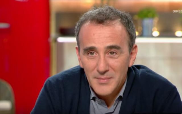 Capture d'écran YouTube/Elie Semoun se lache - C à vous - 28/10/2015