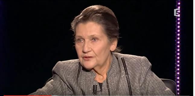 Simone Veil (Crédit : capture d'écran YouTube/La Traversée Du Miroir-Simone Veil, Abd Al Malik)
