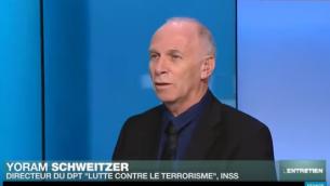 """Yoram Schweitzer (Capture d'écran : YouTube/Yoram Schweitzer : """"Face au terrorisme, il ne faut surtout pas paniquer"""")"""