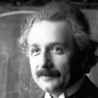 Albert Einstein lors d'une conférence à Vienne en 1921  (Crédit : Ferdinand Schmutzer/CC-BY/Wikimedia Commons)