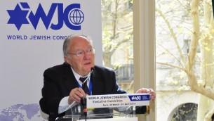 Le président du CRIF Roger Cukierman (Photo: Autorisation Congrès juif mondial / JTA)