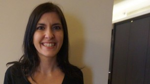 Lisa Rahmani, responsable des programmes européens - Gvahim (Crédit : Charlotte Guimbert)